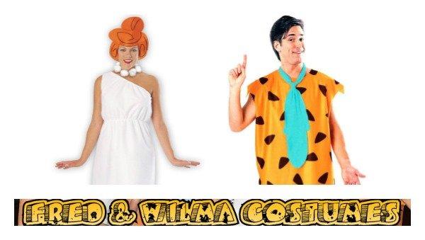 Fred & Wilma Flintstone Costumes