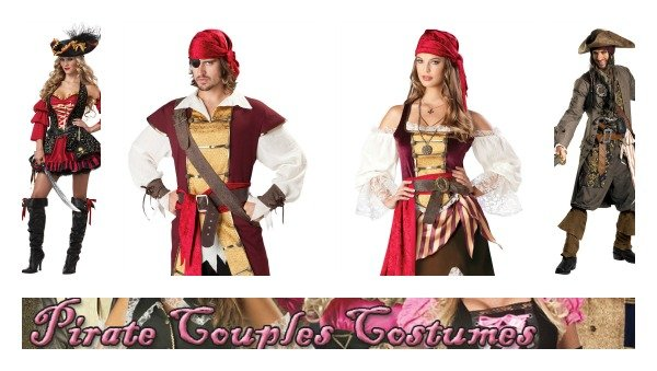 Priates Couples Costumes
