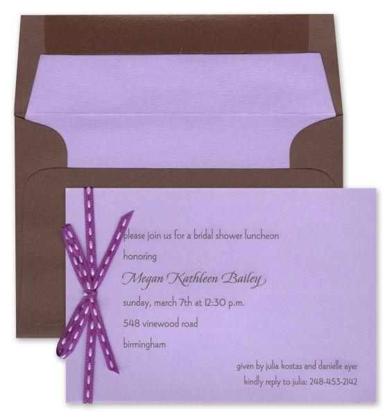 Lavender reverse card by William Arthur