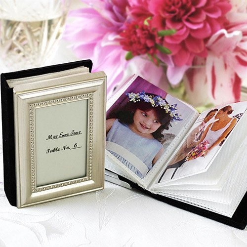 Mini Photo Album Favor Place Card Holder