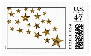Shower of Stars Stamps