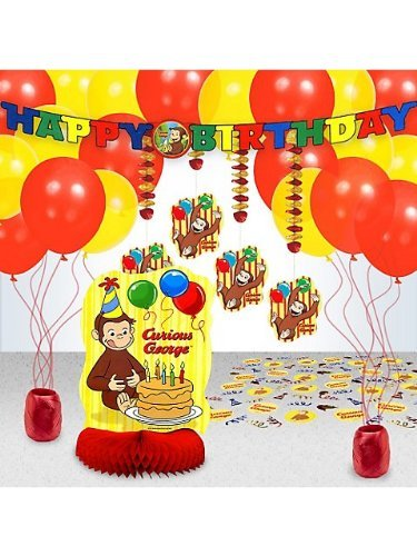 Curious George Decoration Kit