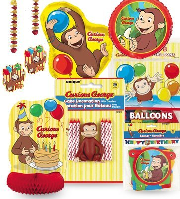 Curious George Party Kit 2