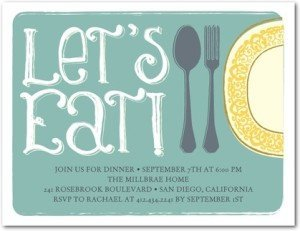 Delightful Dinner Party Invitations