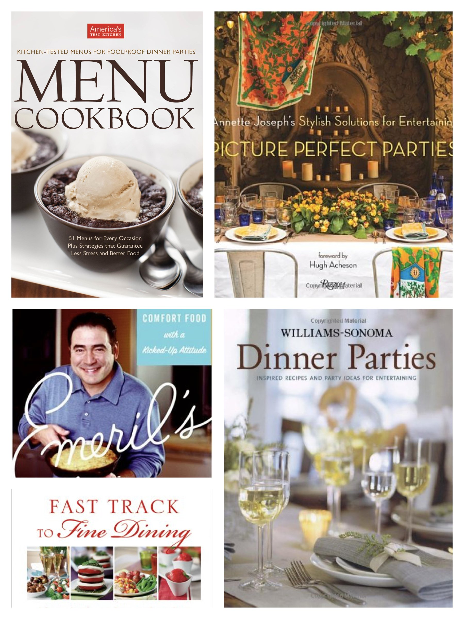 Dinner Party Cookbooks