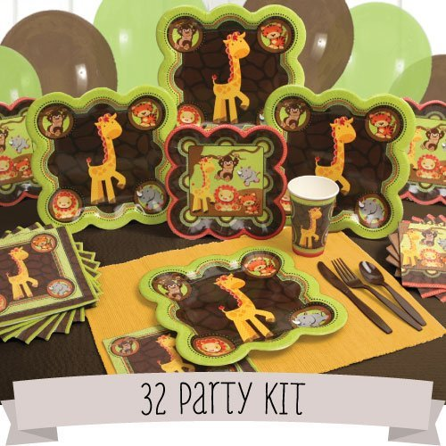 Fun Safari Jungle Party Kit