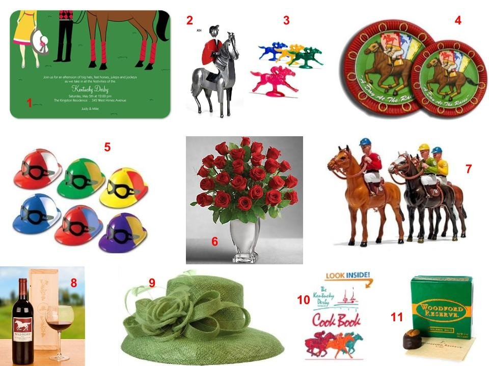A Day at the Races, horse racing theme party