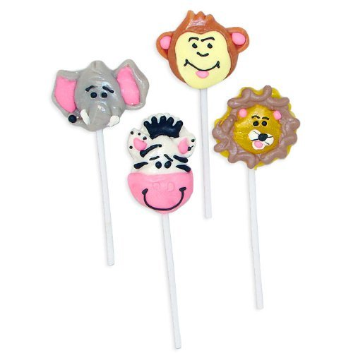 Jungle Animal Zoo Lollipops
