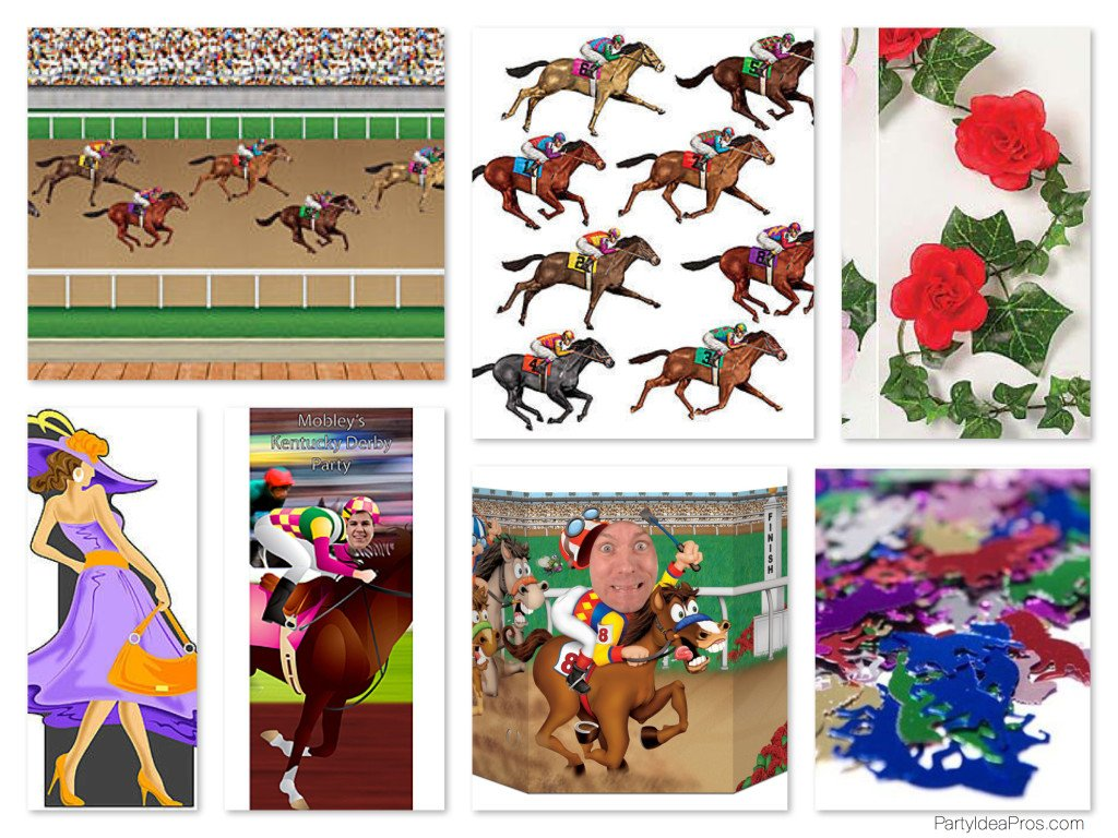 Kentucky Derby Party Decor & Props