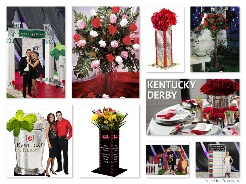 Kentucky Derby Theme Party Decorations