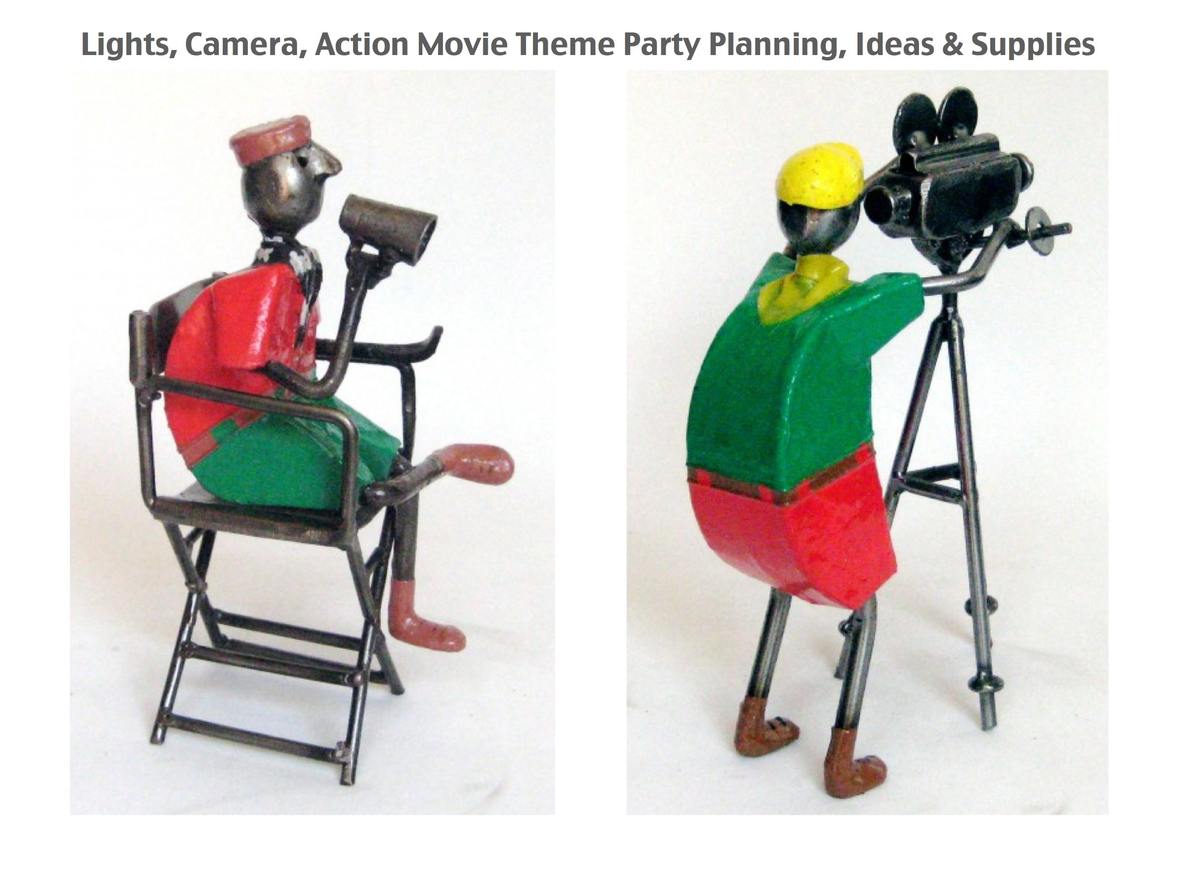 Lights, Camera, Action Movie Theme Party Planning, Ideas & Supplies