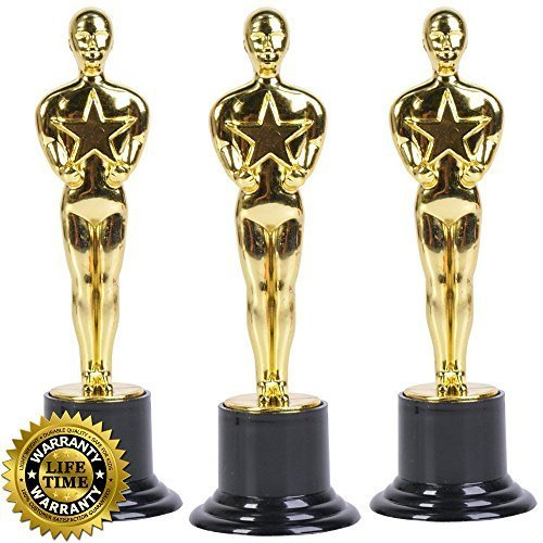 Oscar award movie trophies