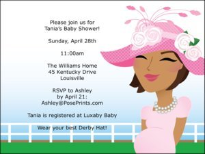 Personalized Kentucky Derby Party Invitations