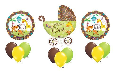 Baby Animal Baby Shower Decorations