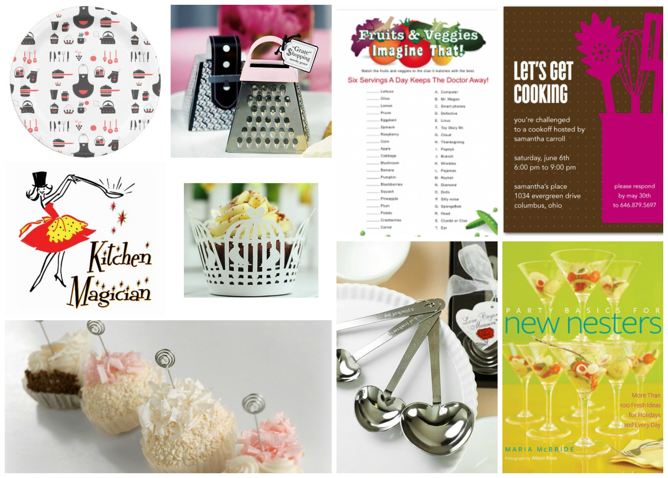 Whats Cooking Theme Party Planning Ideas Supplies
