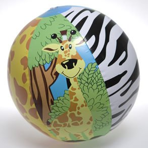 Zoo Animal Beach Ball