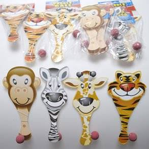 Zoo Animal Paddle Ball