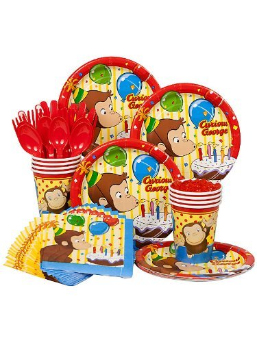 curious george party kit 1