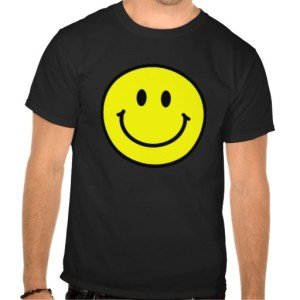 Happy Face Basic Dark T-Shirt