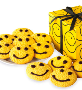 Individually Wrapped Smiley Cookies