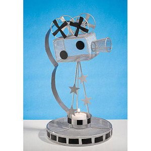 Movie Camera Centerpiece