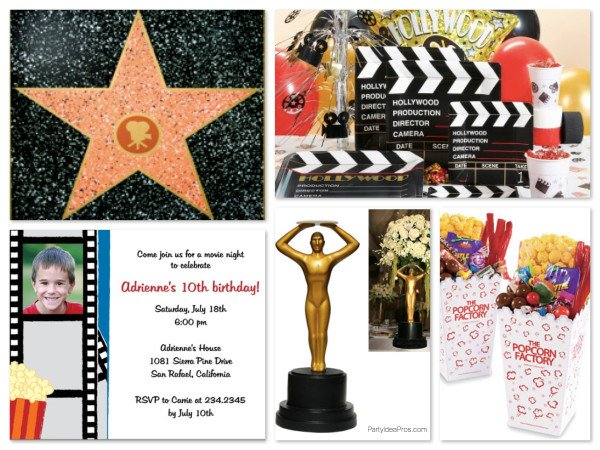 Movie Night Theme Party Ideas & Supplies