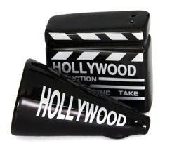Movieland Salt and Pepper Shakers