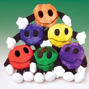 Plush Smiley Face Men