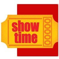Show Time Movie Ticket Invitations