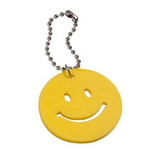 Smiley Face Backpack Charm