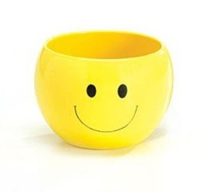 Smiley Face Planter Candy Dish