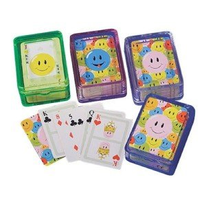 Smiley Face Playing Cards