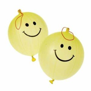 Smiley Face Smile Punch Ball