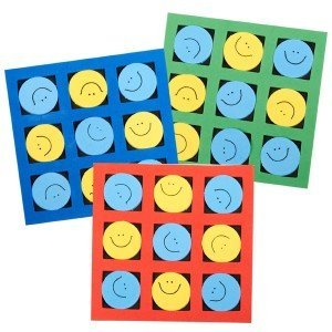 Smiley Face Tic Tac Toe Games