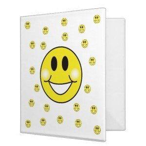 Smiley-Faces Binder