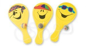 Smiley Paddleball Games
