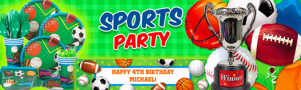 All Sports Party Supplies