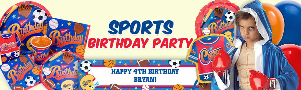 All Sports Birthday Party