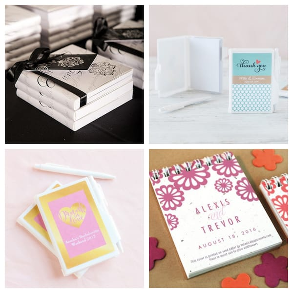 Bridal Shower Note Pad Sets