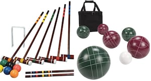 Croquet and Bocce Sets