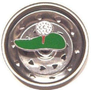 Enamel Kitchen Strainer Golf Ball