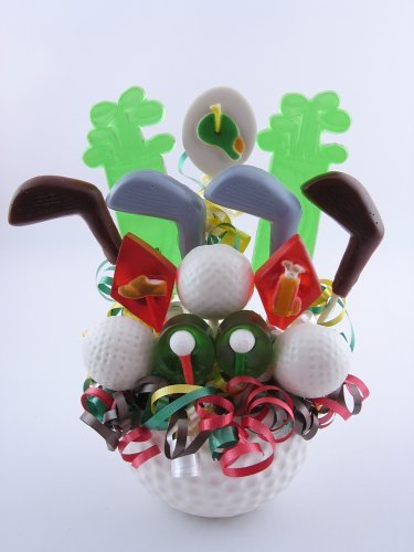Fore the Links Lollipop Candy Bouquet