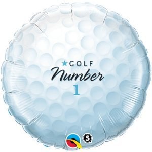 Golf Ball Mylar Balloon