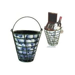 Golf Basket with Wine