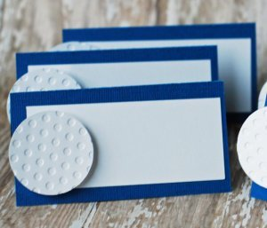 Golf Ball Place Card Holder Birthday Party Cards