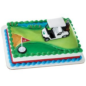 Golf Cake Decorating Set