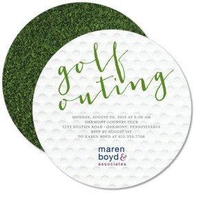 Golf Getaway Invitations