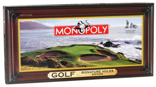 Golf Signature Holes Edition of Monopoly
