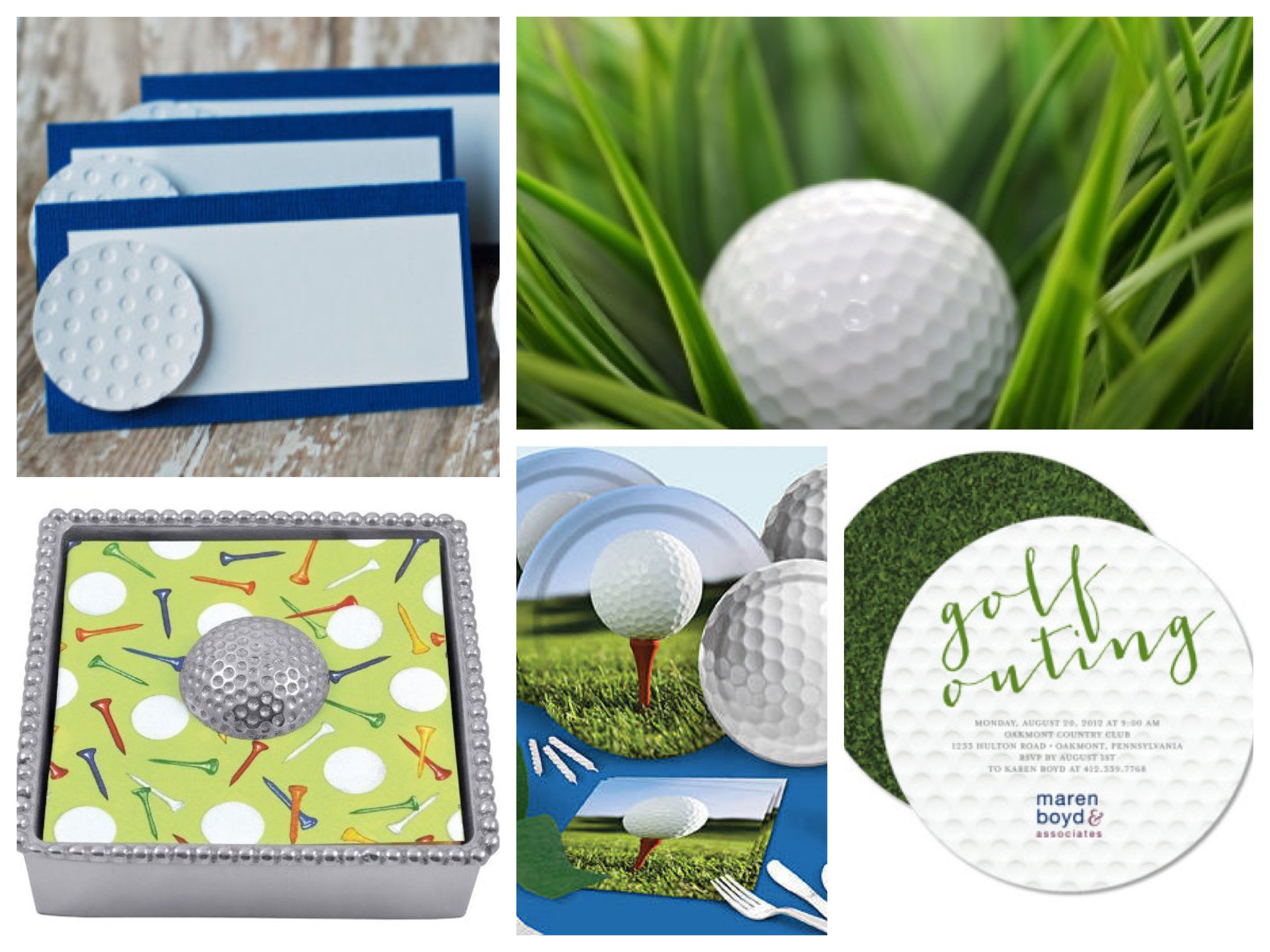 Golf Theme Party Planning Ideas Supplies