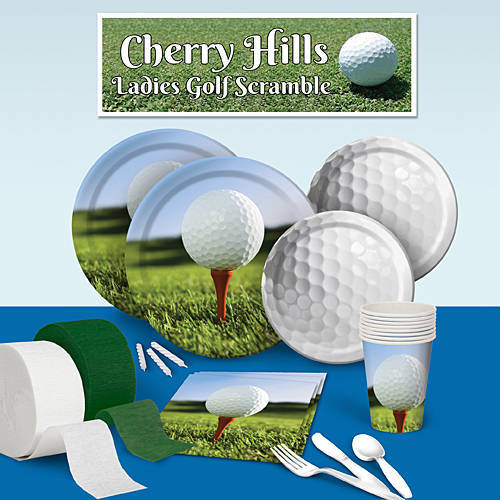 Golf Deluxe Party Pack